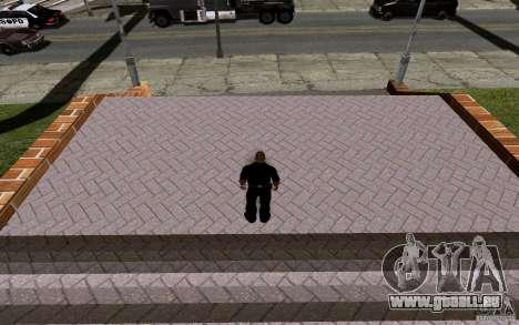 La nouvelle Cour de basket-ball pour GTA San Andreas huitième écran