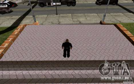 Dem neuen Basketballplatz für GTA San Andreas achten Screenshot