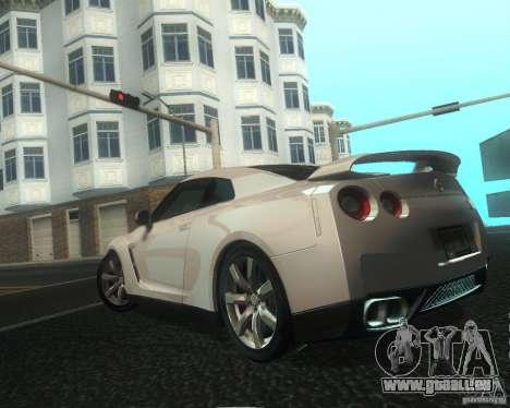 Nissan GTR R35 Spec-V 2010 Stock Wheels für GTA San Andreas Räder