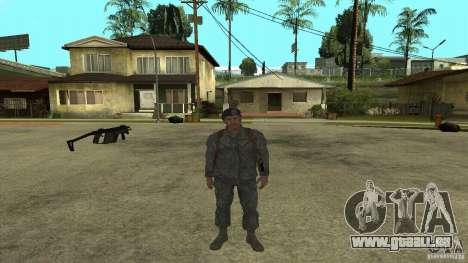 Shepard de CoD MW2 pour GTA San Andreas cinquième écran
