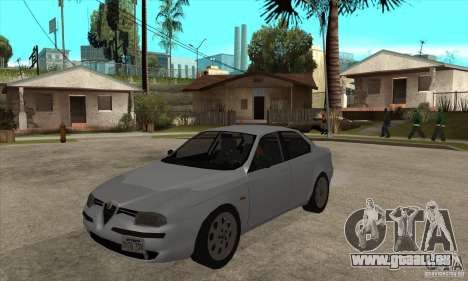 Alfa Romeo 156 2,5V6 2000 pour GTA San Andreas