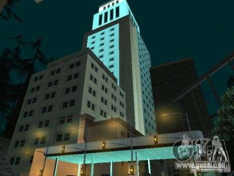 Nouvelle ville v1 pour GTA San Andreas troisième écran