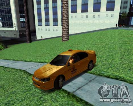 Ford Falcon XR8 Taxi pour GTA San Andreas