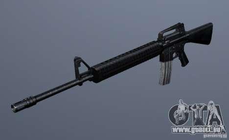 M16A4 pour GTA San Andreas deuxième écran