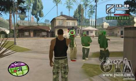 Neue Sicht für GTA San Andreas zweiten Screenshot