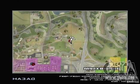 Une Villa pour GTA San Andreas deuxième écran