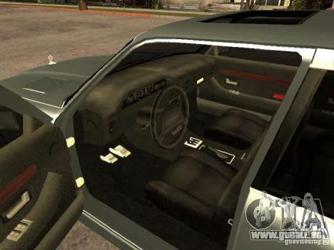 HD Mafia Sentinel pour GTA San Andreas sur la vue arrière gauche