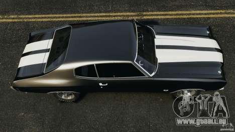 Chevrolet Chevelle SS 1970 v1.0 pour GTA 4 est un droit