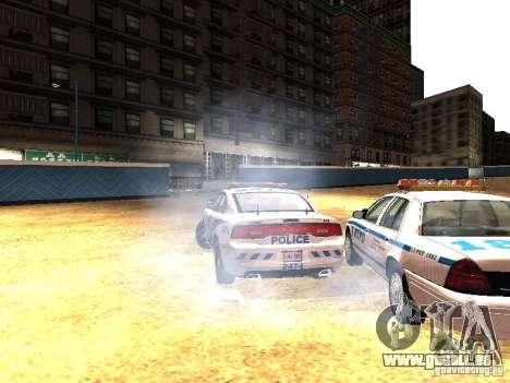 Dodge Charger 2011 Toronto Police für GTA San Andreas Seitenansicht