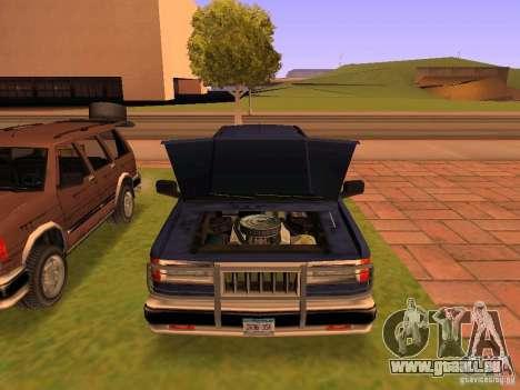 Mountainstalker S für GTA San Andreas Motor