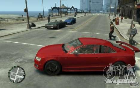 Audi S5 v2 pour GTA 4 est une gauche