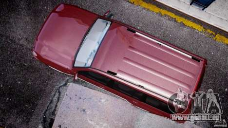 Toyota Land Cruiser 100 Stock pour GTA 4 est une vue de l'intérieur