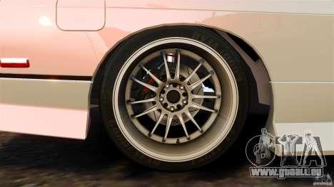 Nissan 240SX facelift Silvia S15 [RIV] pour GTA 4 est une vue de dessous
