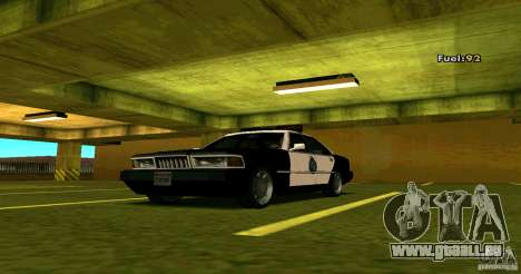 Sentinel Police LV pour GTA San Andreas