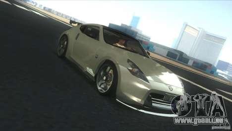 Nissan 370Z Drift 2009 V1.0 pour GTA San Andreas vue de côté