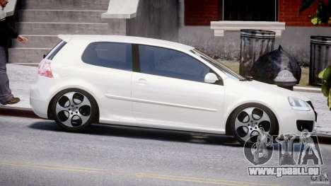 Volkswagen Golf GTI 2006 v1.0 pour GTA 4 est une vue de l'intérieur