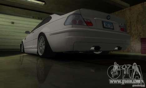 BMW M3 Tuneable pour GTA San Andreas vue de côté