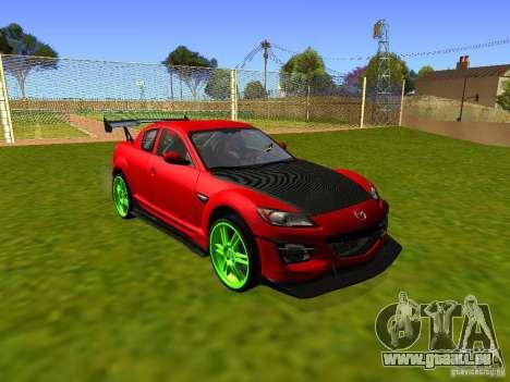 Mazda RX-8 R3 Tuned 2011 für GTA San Andreas