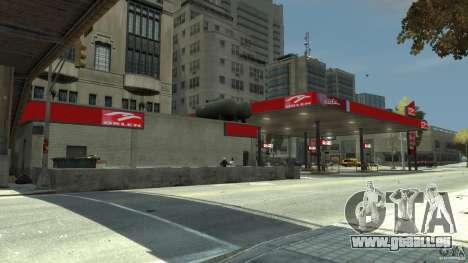 New gas station pour GTA 4 quatrième écran