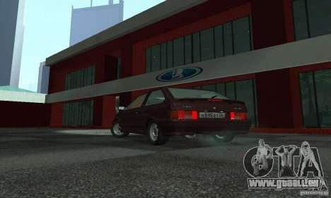 VAZ 2113 Suite v für GTA San Andreas zurück linke Ansicht