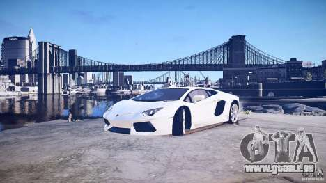Lamborghini Aventador LP700-4 v1.0 pour GTA 4