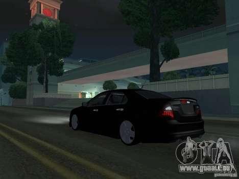 Ford Fusion pour GTA San Andreas sur la vue arrière gauche