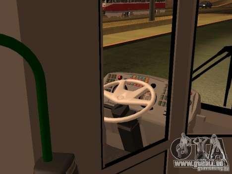 LIAZ 5292.20 pour GTA San Andreas vue arrière