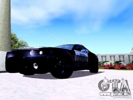 NFS Undercover Cop Car MUS pour GTA San Andreas laissé vue