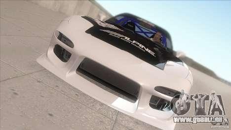 Mazda RX-7 FD K.Terej pour GTA San Andreas vue intérieure