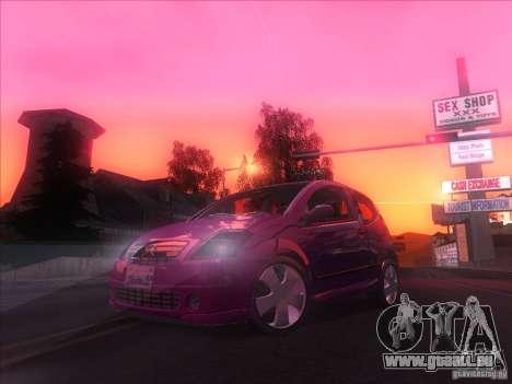 Citroen C2 für GTA San Andreas rechten Ansicht