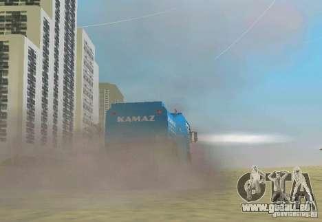KAMAZ Master pour une vue GTA Vice City de la gauche