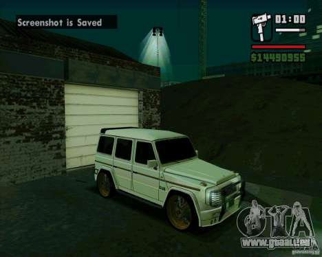 Mercedes Benz G500 Dub Edition für GTA San Andreas