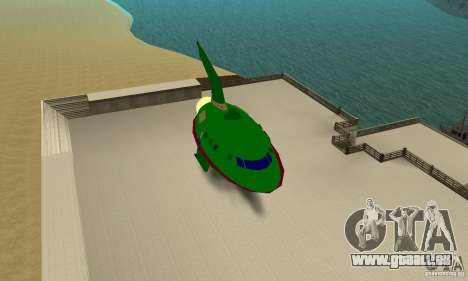Planet Express für GTA San Andreas zurück linke Ansicht