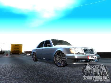 Mercedes-Benz E500 W124 für GTA San Andreas