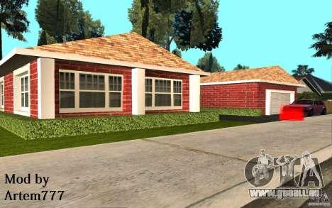 Neue Texturen Startseite Millie für GTA San Andreas