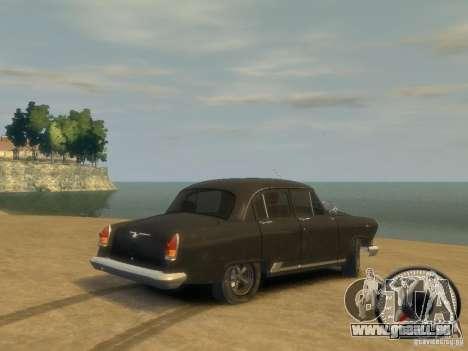 Gaz Volga 21 v8 pour GTA 4 est une gauche