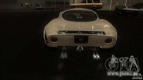 Alfa Romeo Tipo 33 Stradale für GTA San Andreas rechten Ansicht