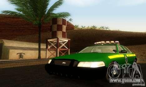 Ford Crown Victoria Vermont Police für GTA San Andreas
