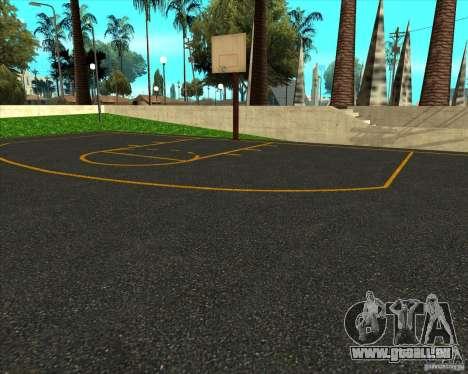 Basket-ball HQ pour GTA San Andreas deuxième écran