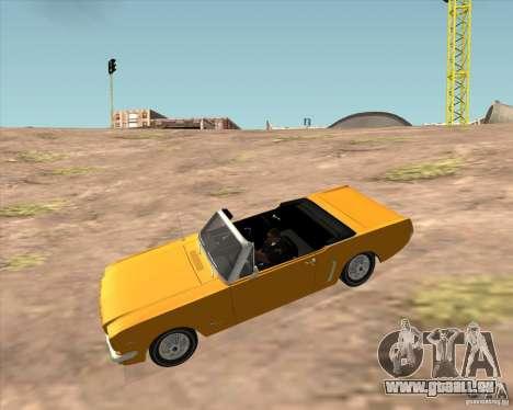 Ford Mustang 289 1964 pour GTA San Andreas vue de droite
