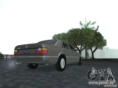 Mercedes-Benz 250D pour GTA San Andreas vue de droite