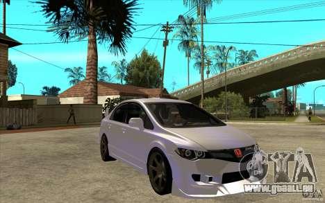Honda Civic Mugen v1 für GTA San Andreas Rückansicht