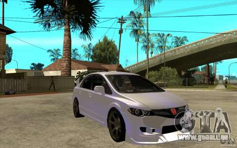 Honda Civic Mugen v1 pour GTA San Andreas vue arrière