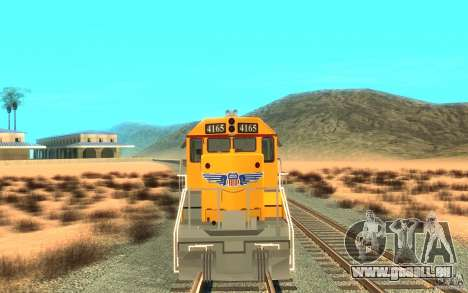 SD 40 Union Pacific Building America für GTA San Andreas linke Ansicht
