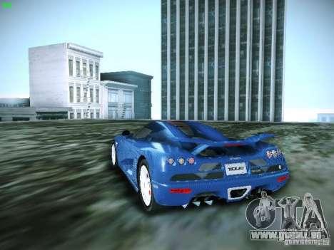 Koenigsegg CCXR Edition pour GTA San Andreas laissé vue