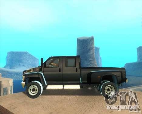 GMC Topkick C4500 2008 pour GTA San Andreas laissé vue