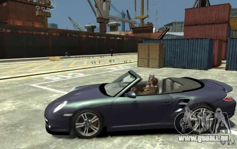 Porsche 911 Cabriolet 2010 pour GTA 4 est une gauche