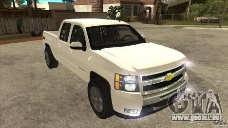 Chevrolet Cheyenne 2011 für GTA San Andreas Rückansicht