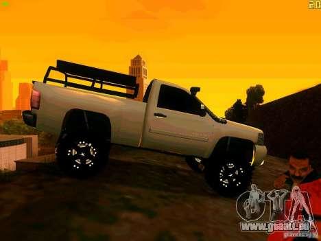 Chevrolet Silverado Final für GTA San Andreas rechten Ansicht