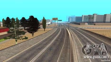 New HQ Roads pour GTA San Andreas cinquième écran